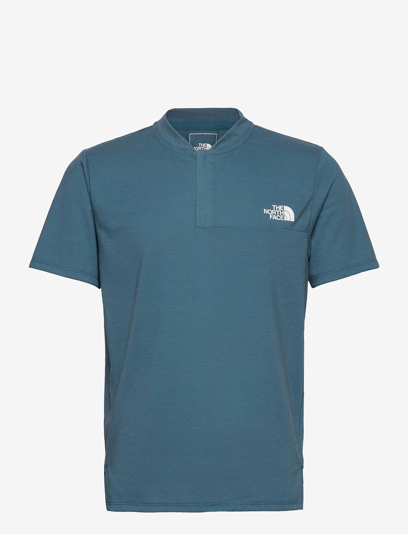 The North Face - M AT POLO - urheilutopit - mallard blue - 0