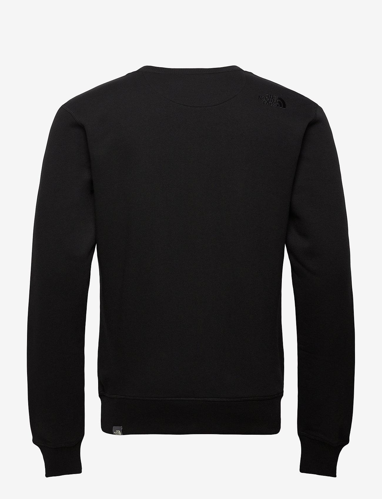 The North Face - M DREW PEAK CREW - sweats - tnf black - 1