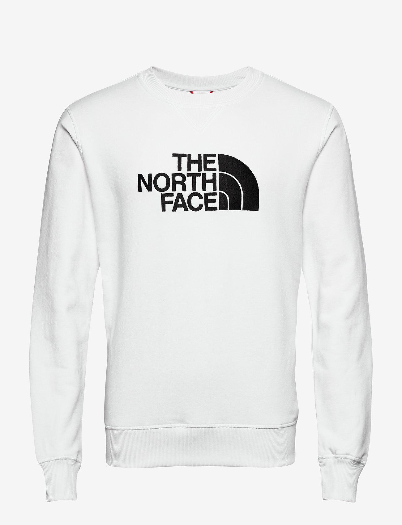 The North Face - M DREW PEAK CREW - sweats - tnf wht/tnf blk - 0