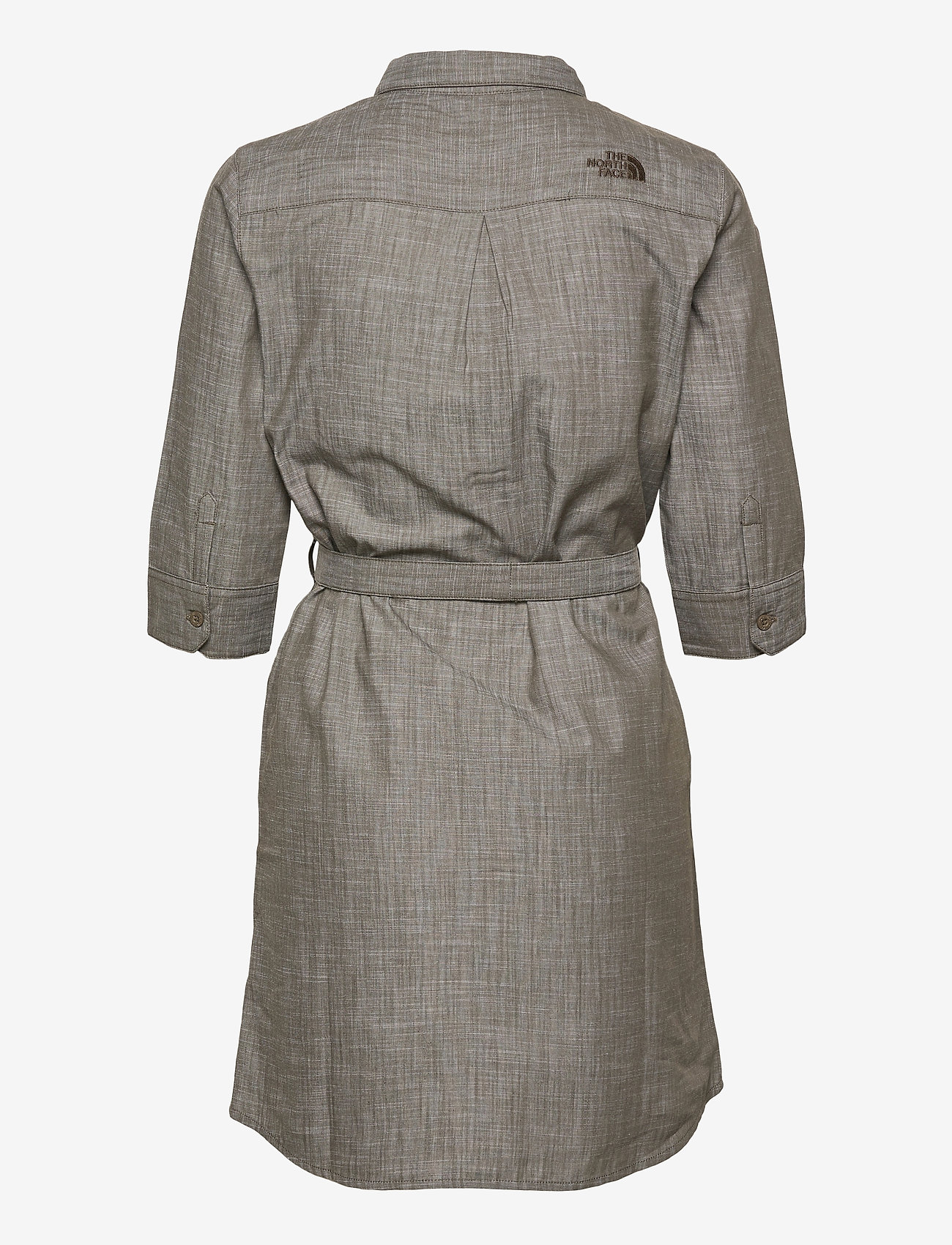 The North Face - W BERNINA DRESS - sommerkjoler - new taupe green chambray - 1