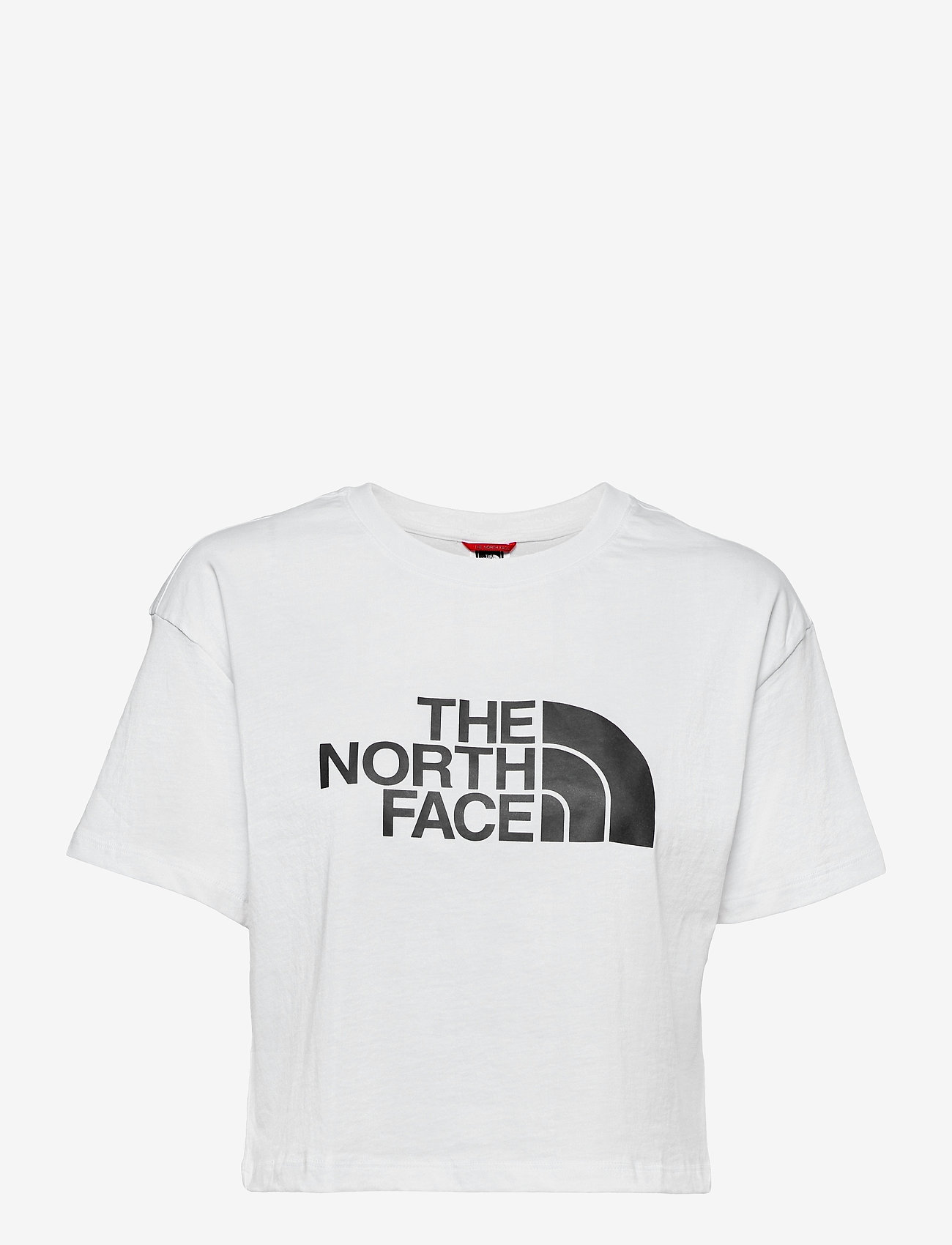 The North Face - W CROPPED EASY TEE - crop tops - tnf white - 0