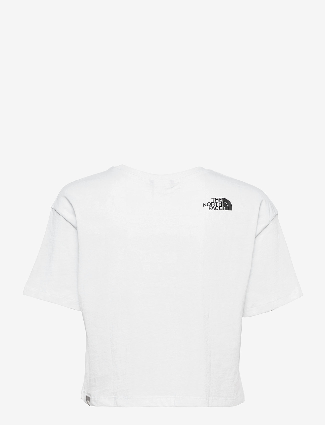 The North Face - W CROPPED EASY TEE - crop tops - tnf white - 1