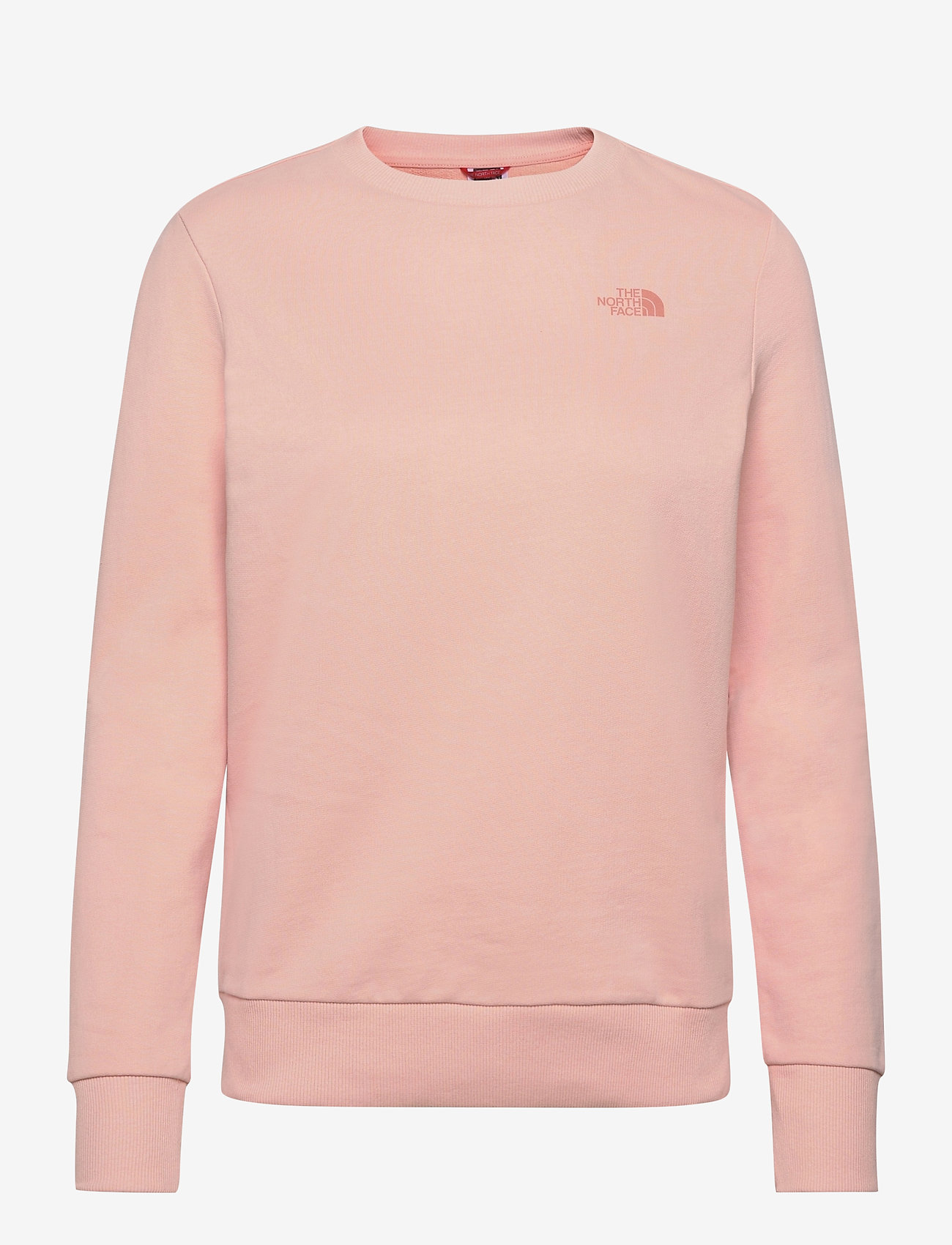 The North Face - W PUD CREW - sweatshirts - evening sand pink - 0