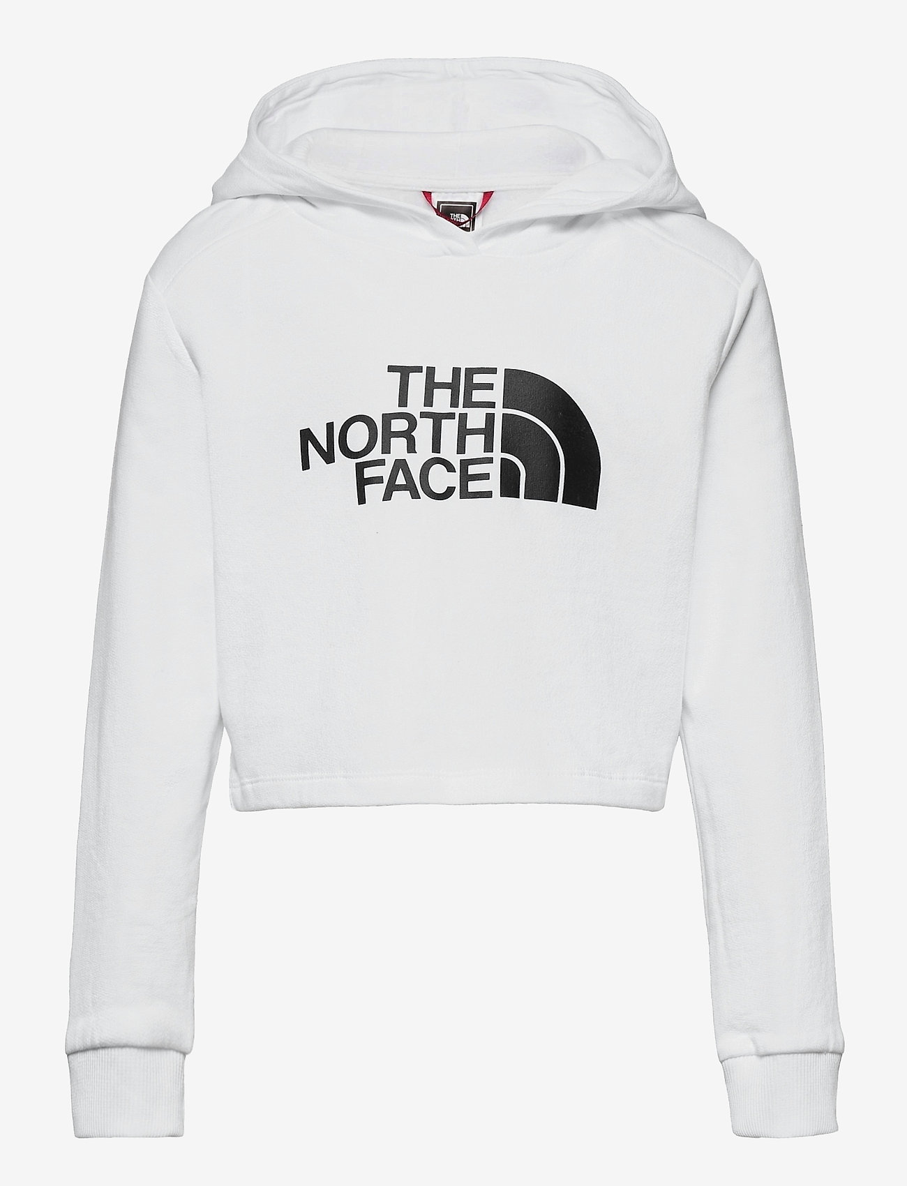 The North Face - G DREW PEAK CROPPED P/O HOODIE - hoodies - tnf white - 0