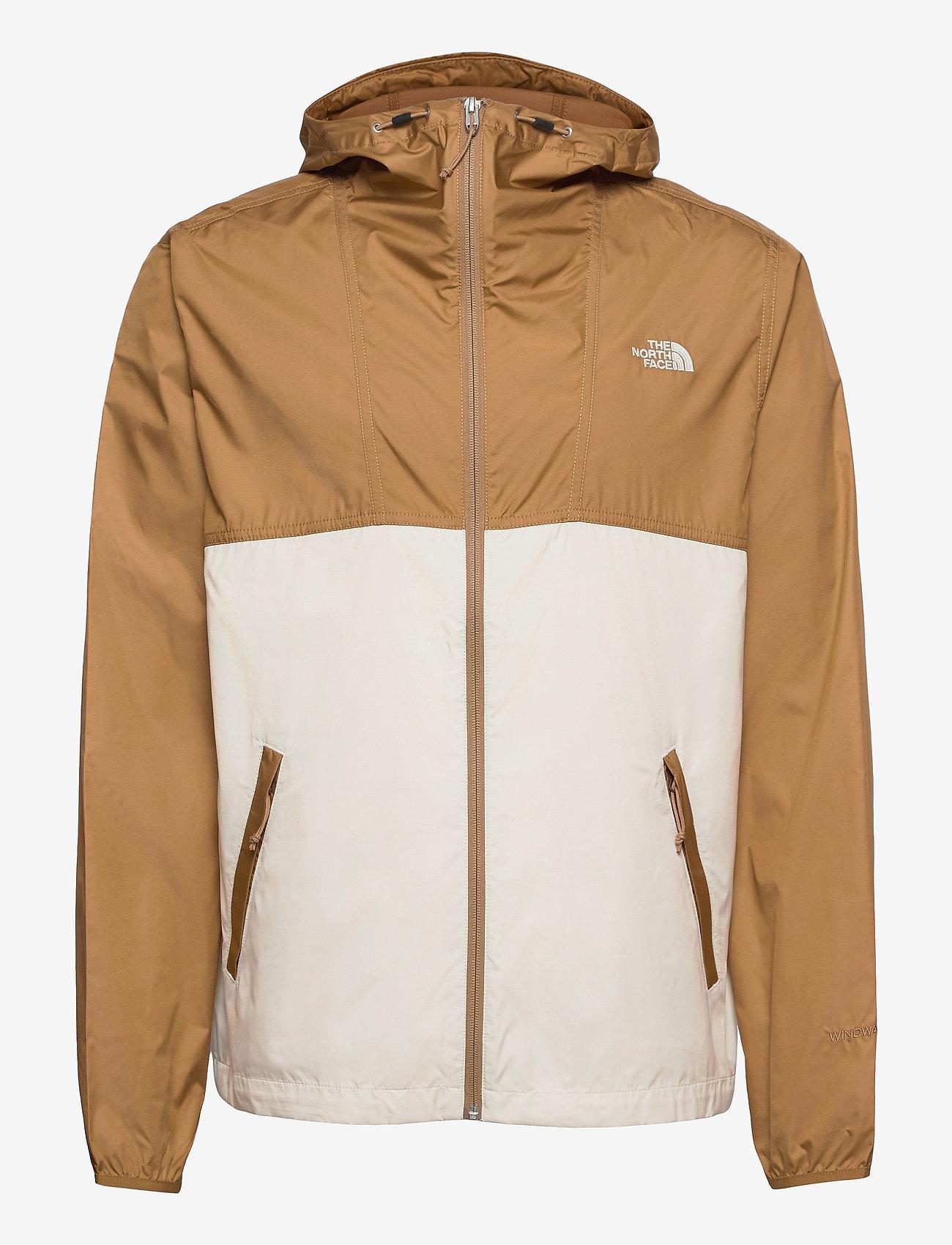 The North Face - M CYCLONE JACKET - vestes d'extérieur et de pluie - utility brown-vintage white - 0