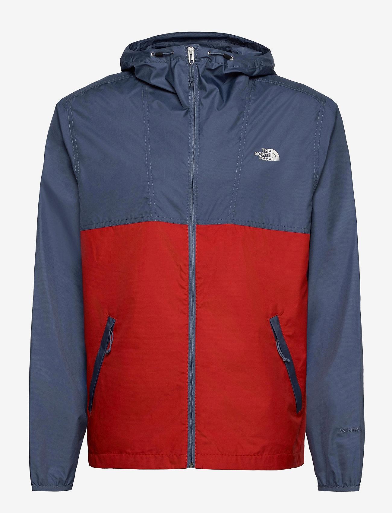The North Face - M CYCLONE JACKET - vestes d'extérieur et de pluie - vintage indigo-rococco red - 0