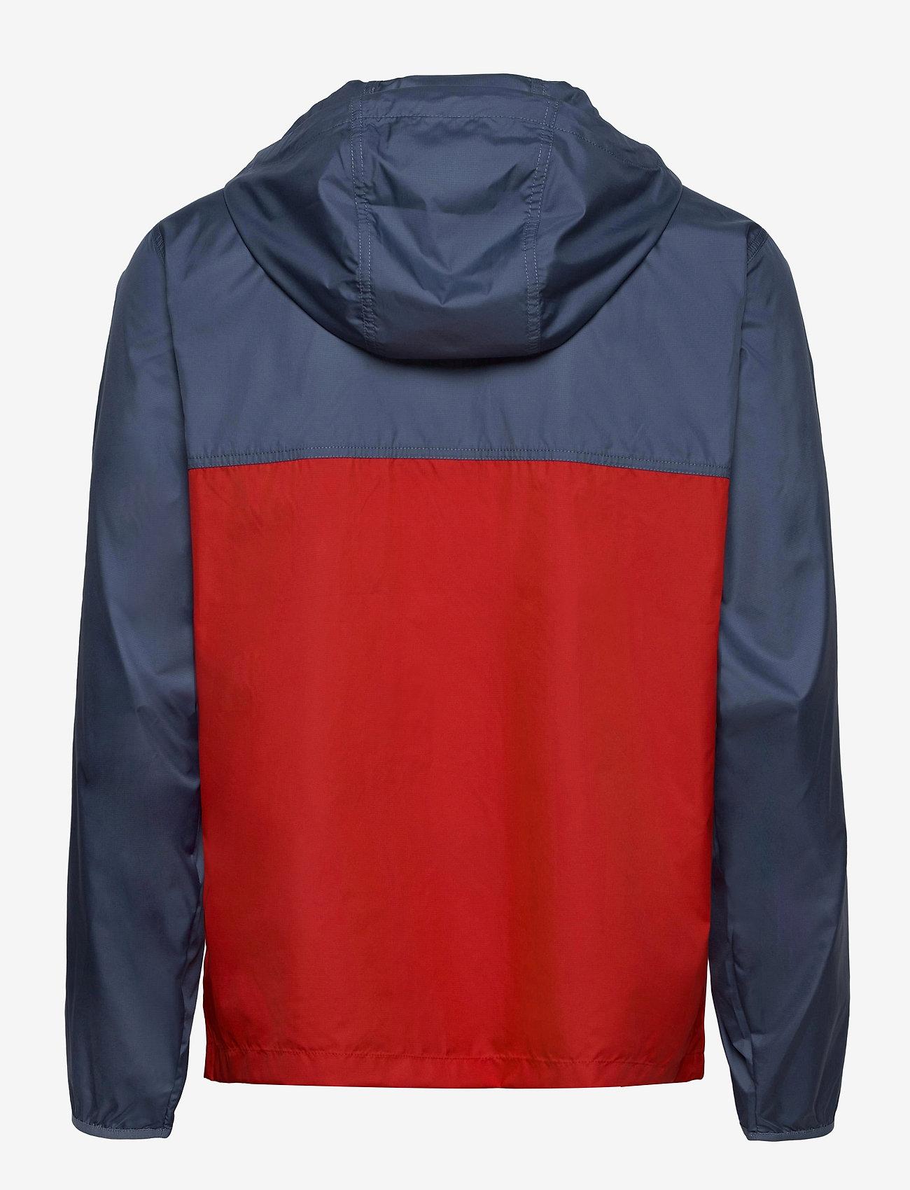 The North Face - M CYCLONE JACKET - vestes d'extérieur et de pluie - vintage indigo-rococco red - 1