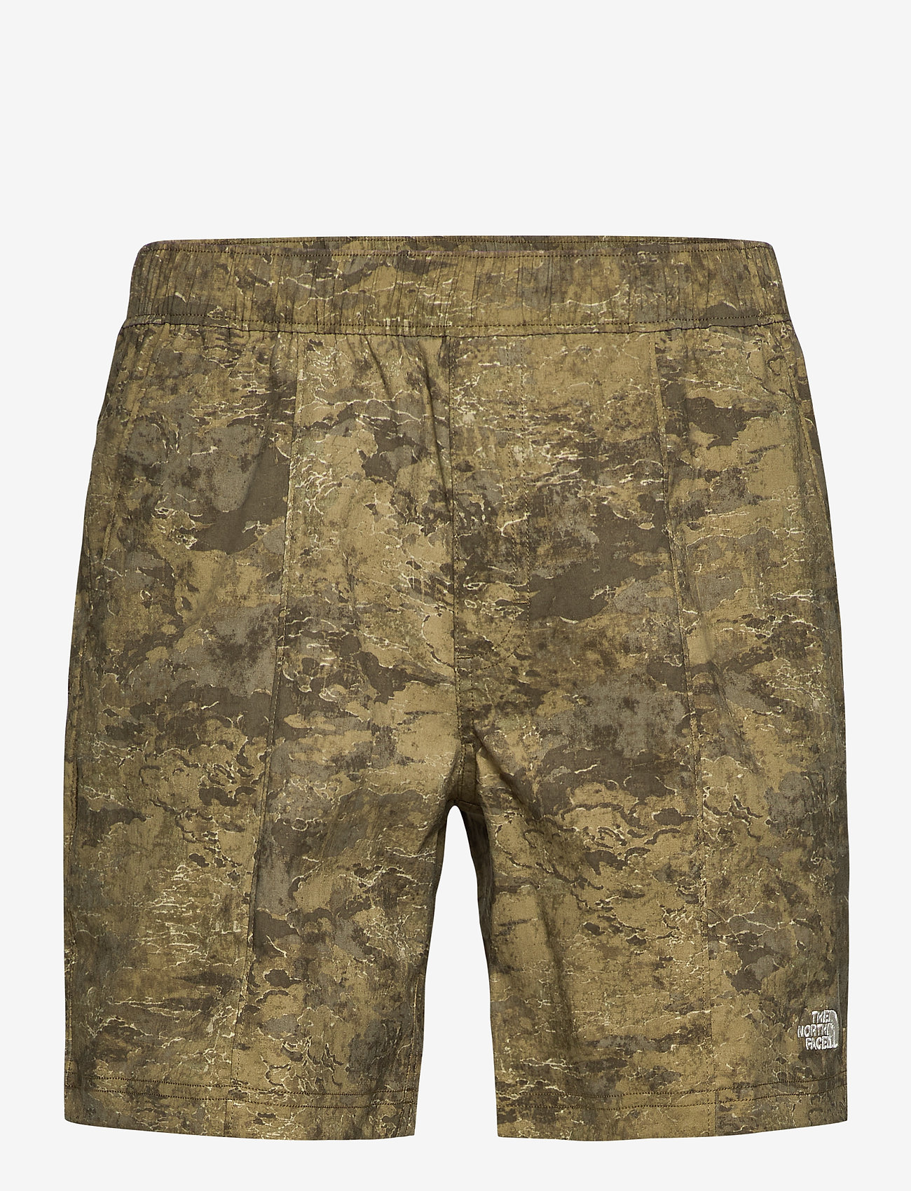 The North Face - M CLASS V PULL ON - wandel korte broek - military olive cloud camo wash print - 0
