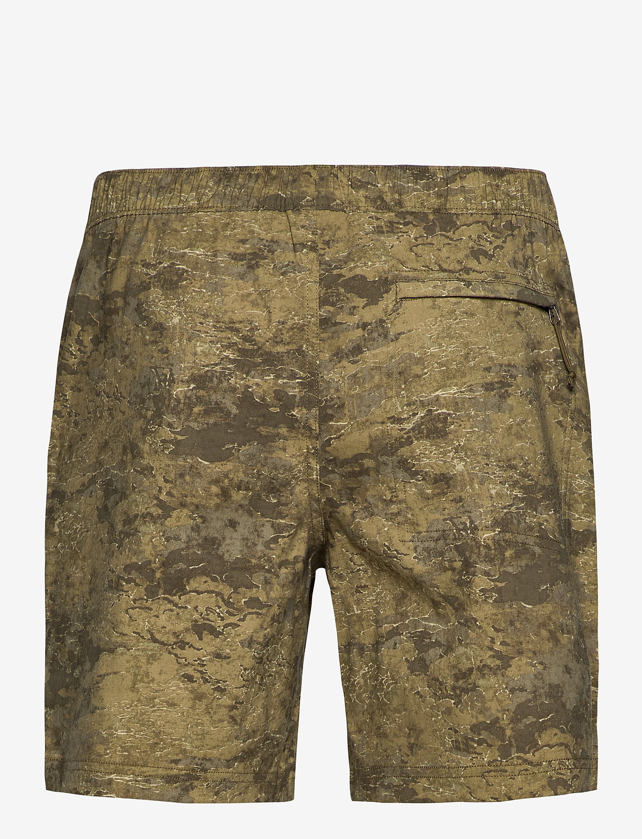 The North Face - M CLASS V PULL ON - wandel korte broek - military olive cloud camo wash print - 1