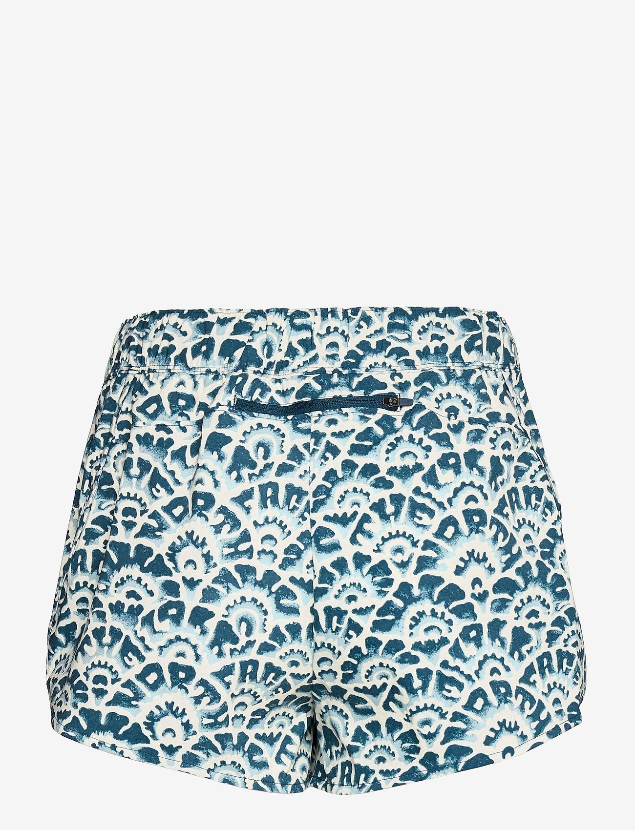 The North Face - W CLASS V MINI SHORT - wandel korte broek - monterey blue ashbury floral print - 1