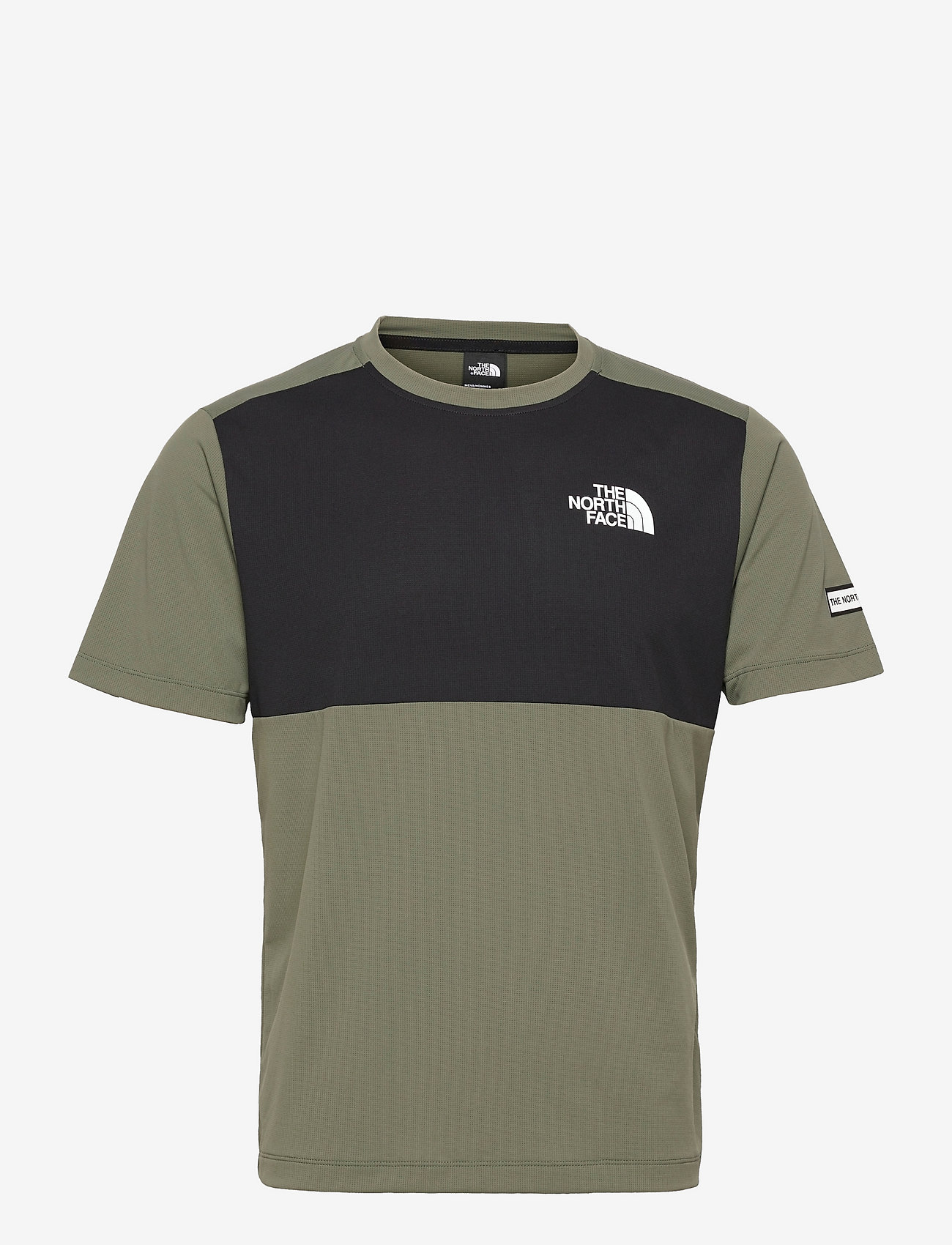 The North Face - M MA HYBD SS TEE - EU - t-shirts - thyme/tnf black - 0