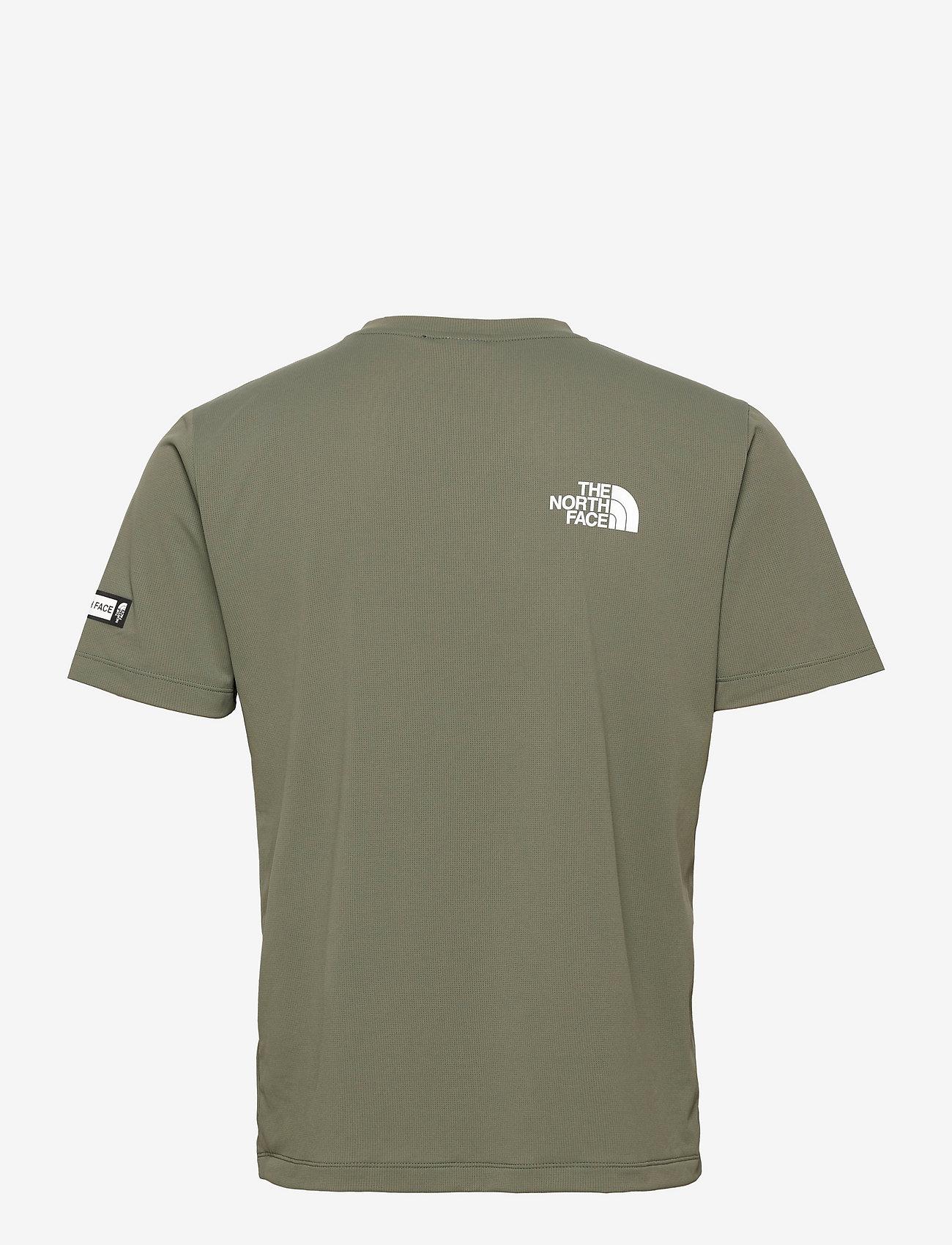 The North Face - M MA HYBD SS TEE - EU - t-shirts - thyme/tnf black - 1