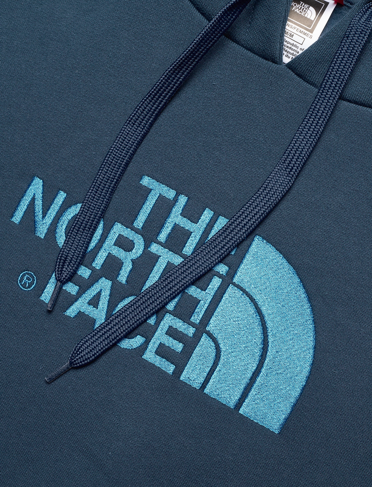 The North Face W DREW PEAK PULL HD - Sweatshirts BLUWGTL/CLRLKBL - Dameklær Spesialtilbud