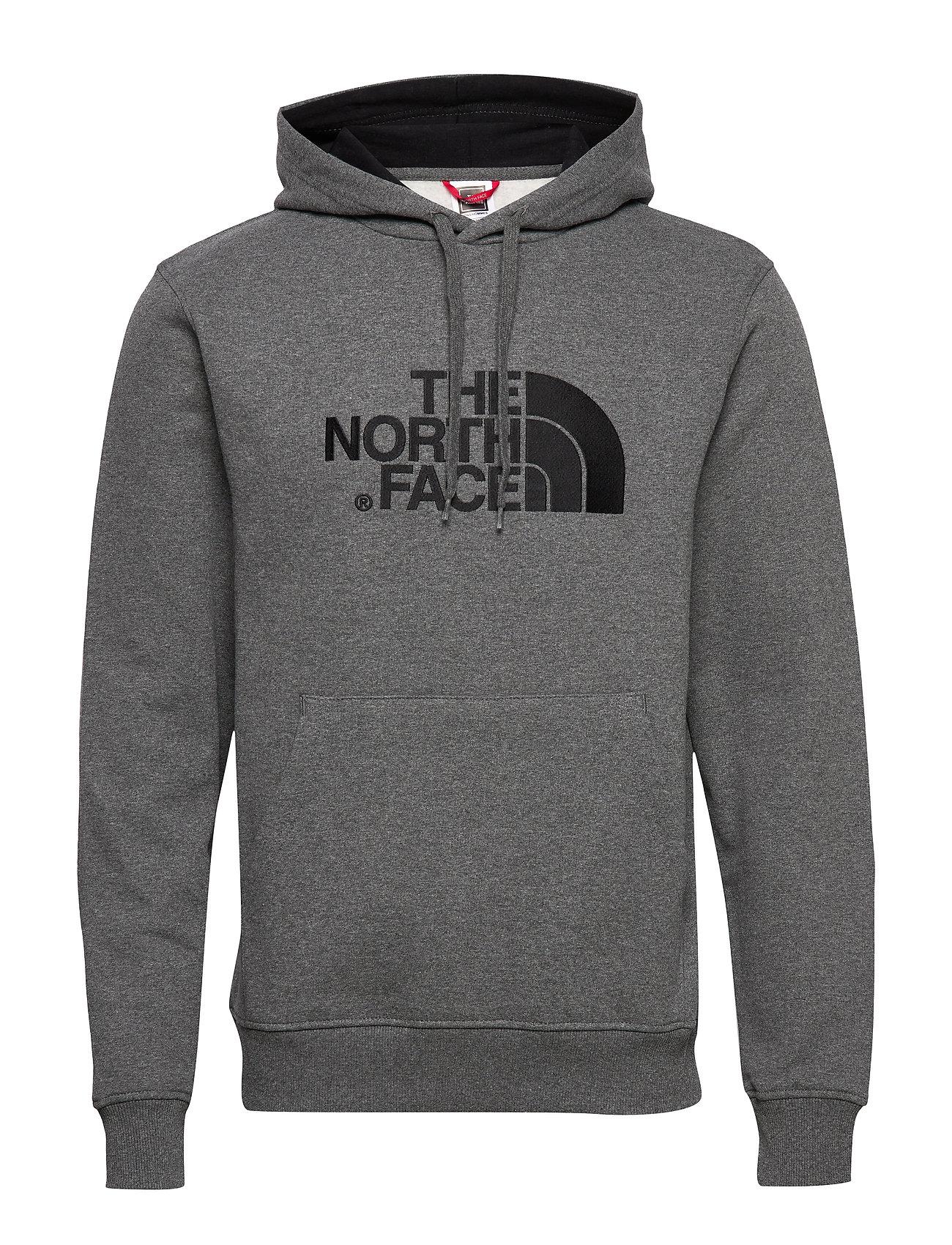 M Drew Peak Plv Hd Hoodie Trøje Grå The North Face