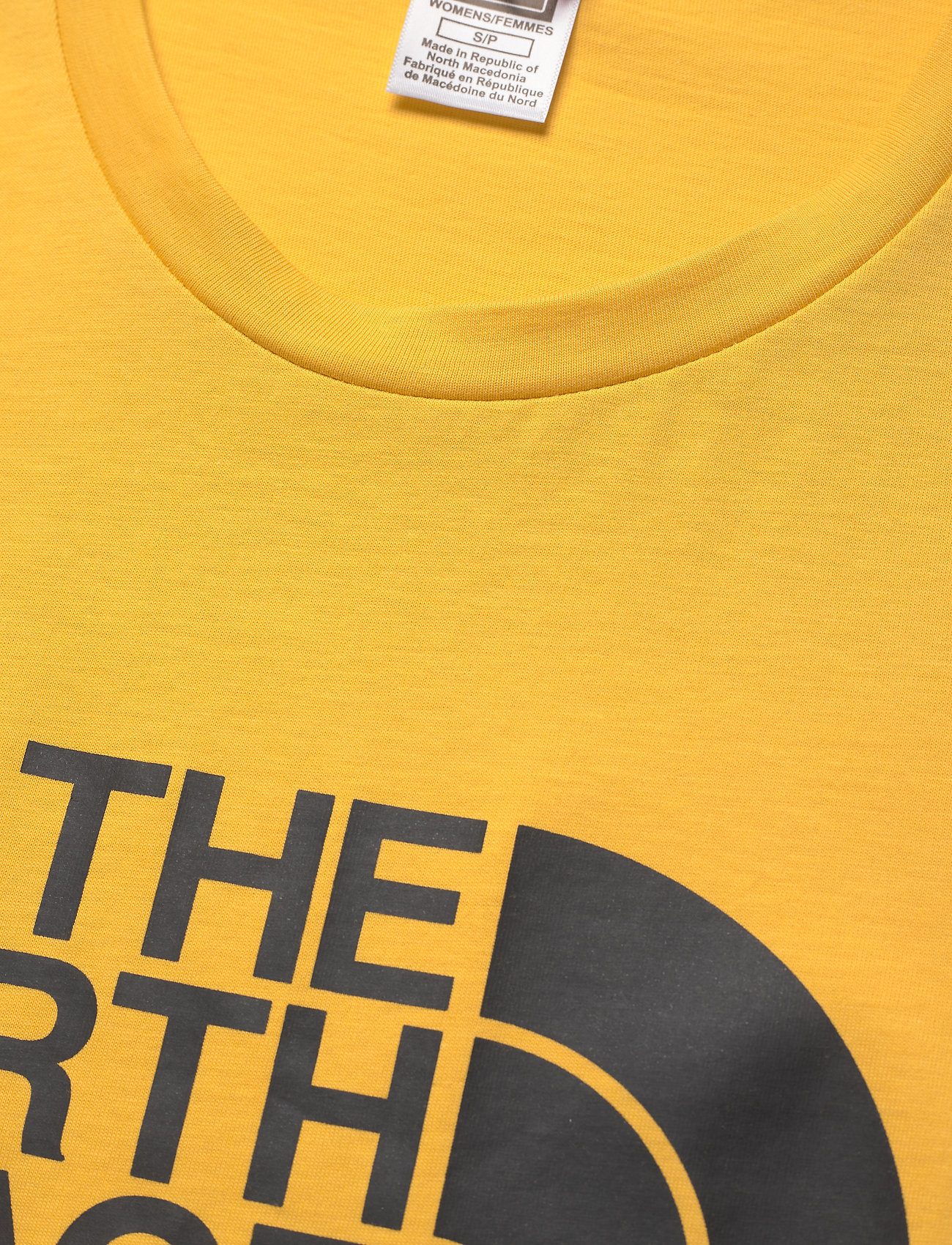 The North Face W S/S EASY TEE - T-shirts & topper BAMBOO YELLOW - Dameklær Spesialtilbud