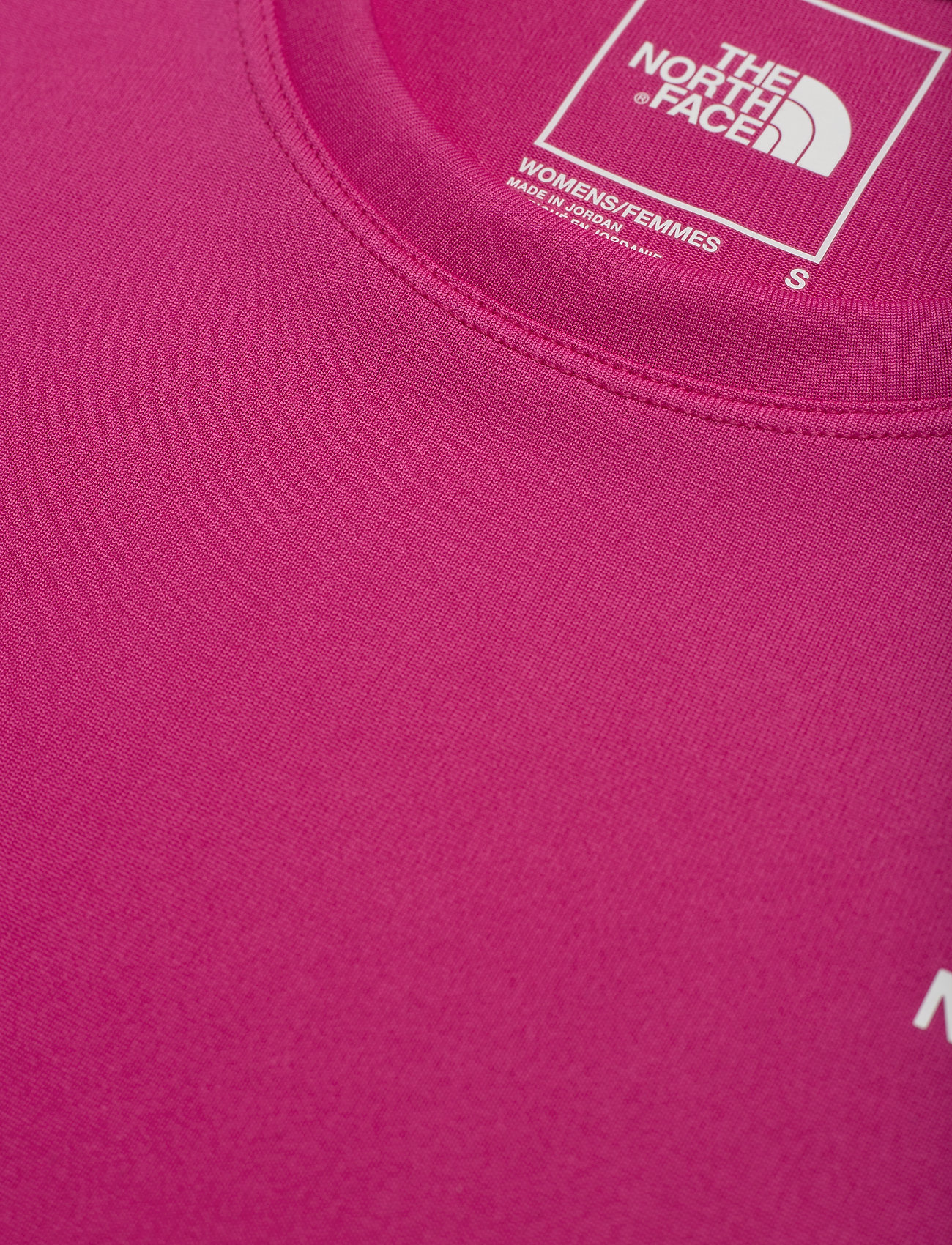 The North Face W REAXION AMP CREW - T-shirts & topper MR. PINK - Dameklær Spesialtilbud