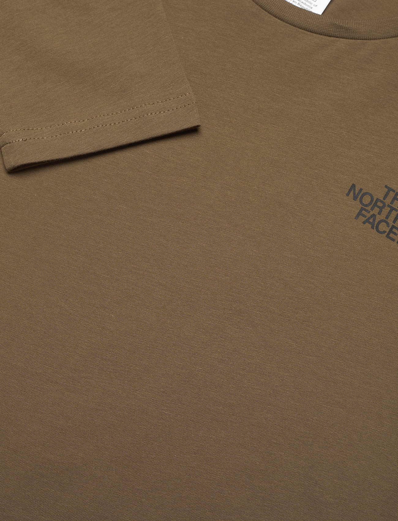 The North Face - M L/S EASY TEE - t-shirts à manches longues - military olive - 1