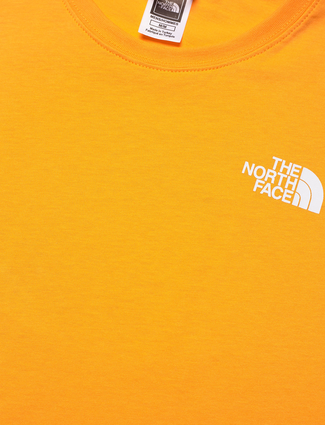 The North Face - M S/S RED BOX TEE - t-shirts à manches courtes - summit gold/tnf black - 1