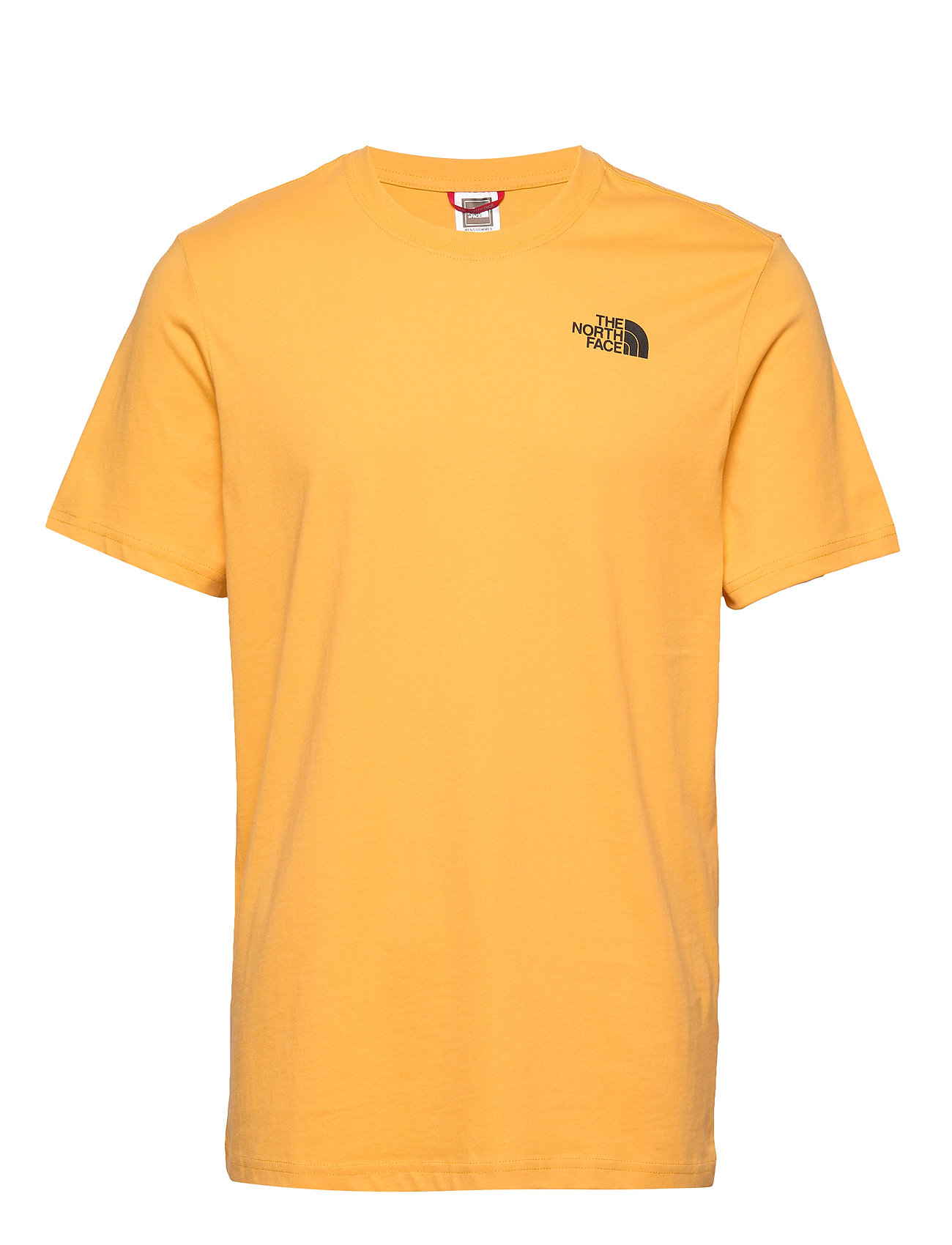 The North Face M S/S RED BOX TEE - TNFYLW/TNFBLACK