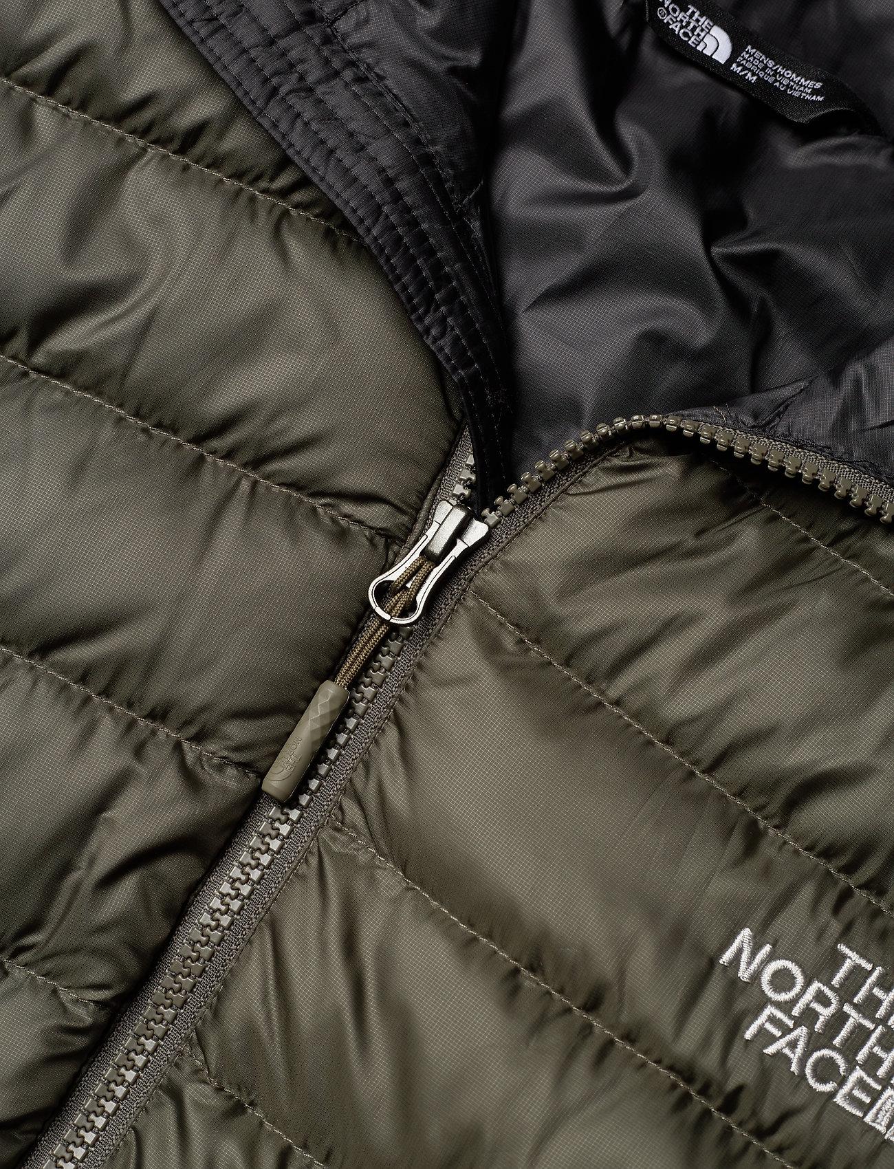 The North Face M TREVAIL HOODIE - Jakker og frakker NEW TAUPE GREEN/TNF BLACK - Menn Klær