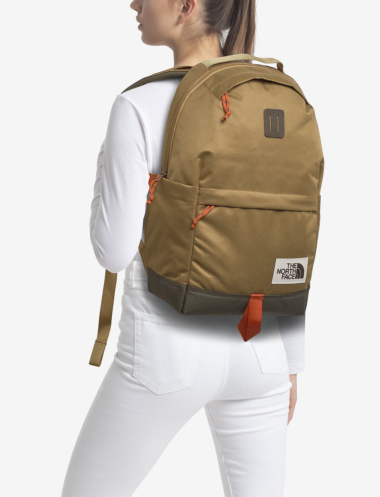 The North Face DAYPACK - BRITISHKHAKI/NWTAUPEGREEN
