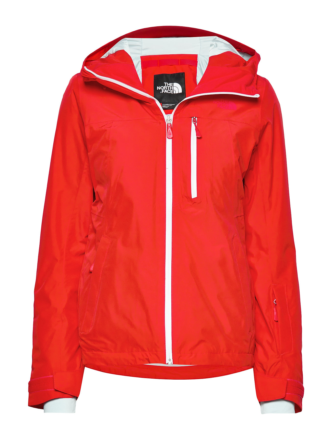 The North Face W DESCENDIT JACKET FIERY RED - FIERY RED