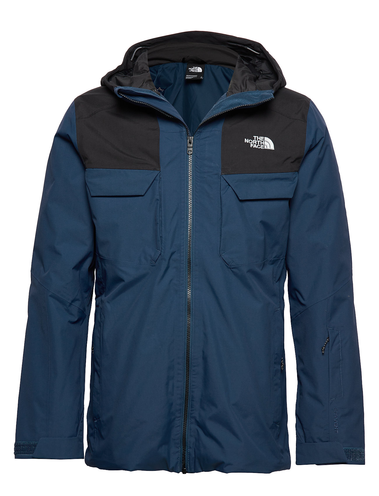 The North Face M FOURBARREL TRI JKT - BLUE WING/BLACK