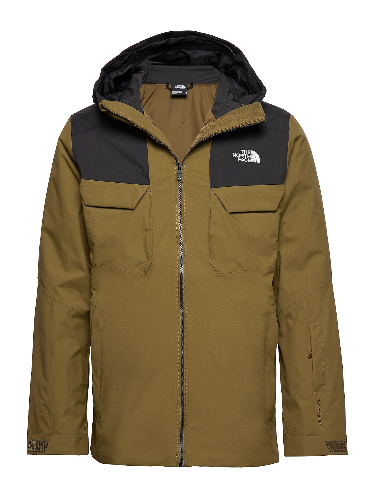 The North Face M FOURBARREL TRI JKT - OLIVE/BLACK