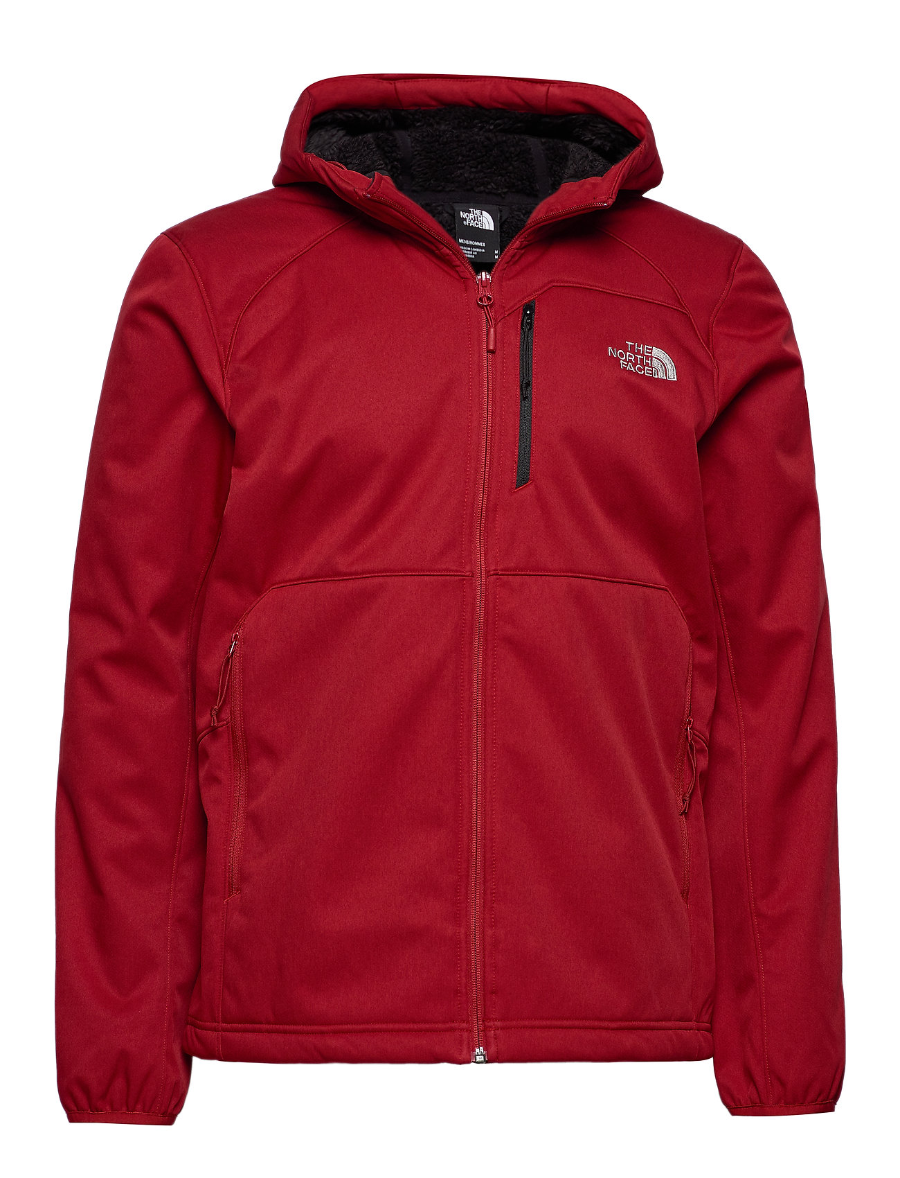 The North Face M QUEST HOODED SOFTS - CARDINAL RED HE