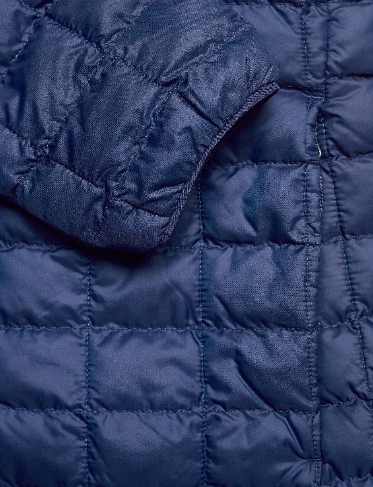 The North Face W THERMOBALL ECO HOO - Kurtki i Płaszcze FLAG BLUE MATTE - Kobiety Odzież.
