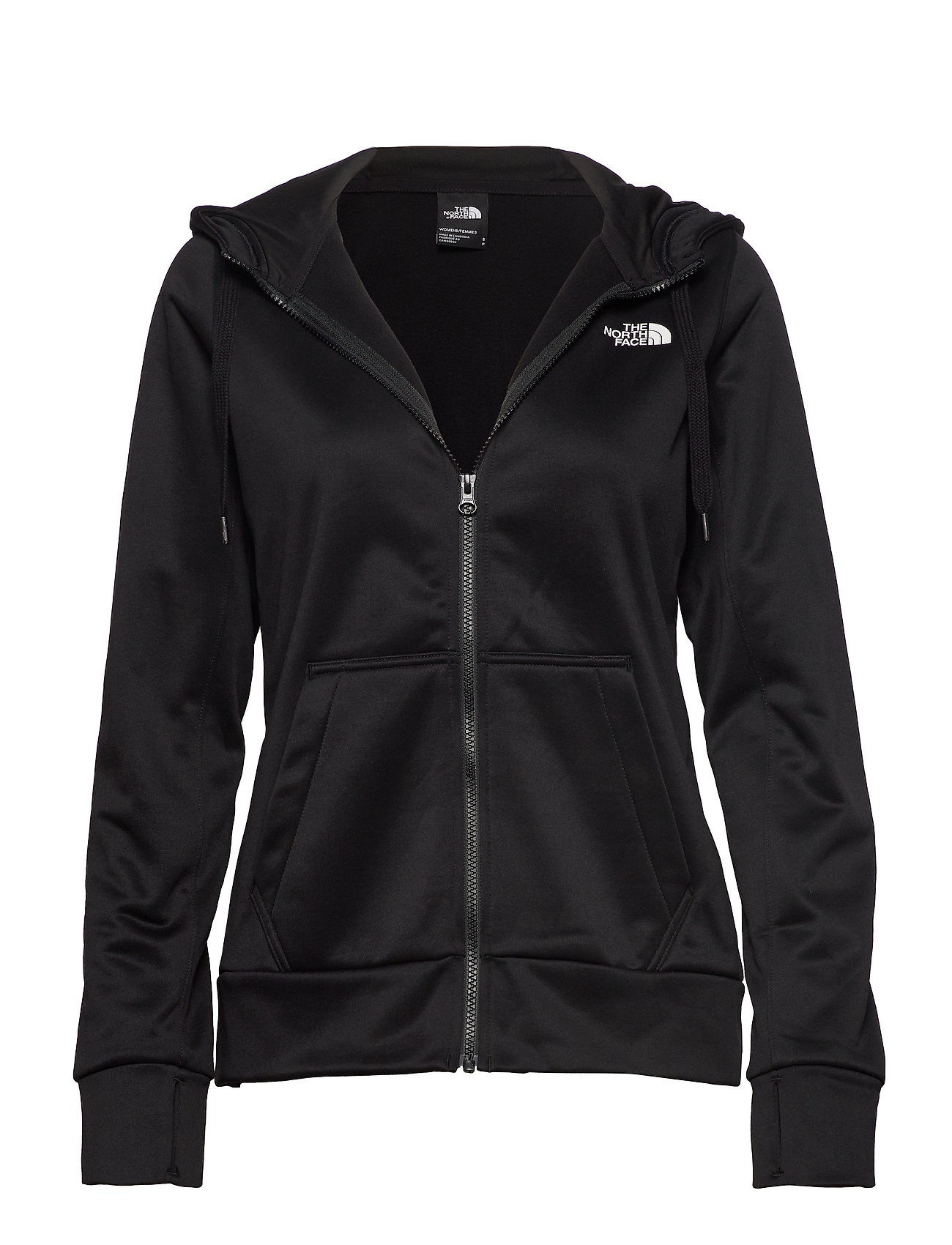 Image of W Surgent Fullzip Hd Hoodie Trøje Sort The North Face (3229252763)