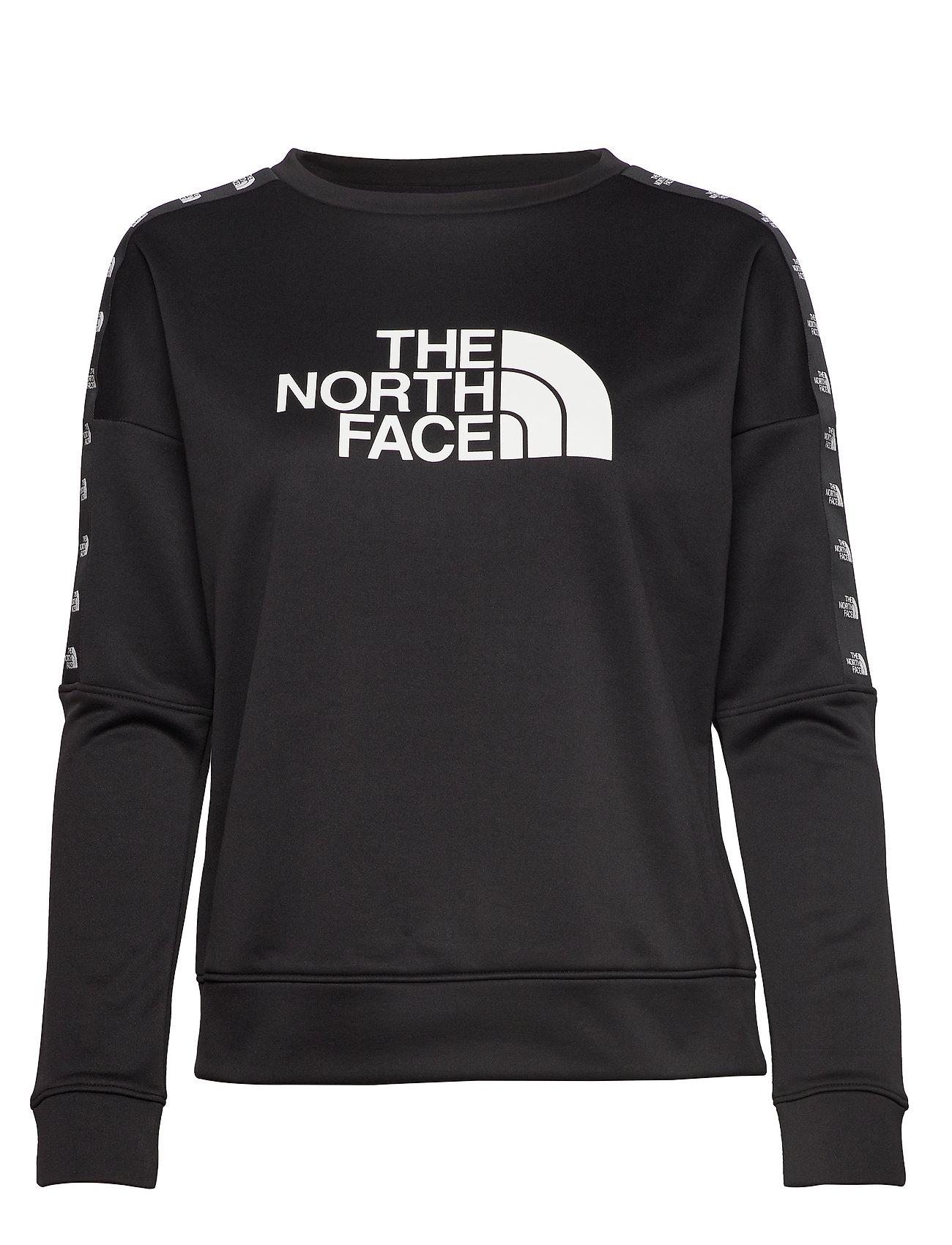 The North Face W TNL CREW SWEATSHIR - TNF BLACK