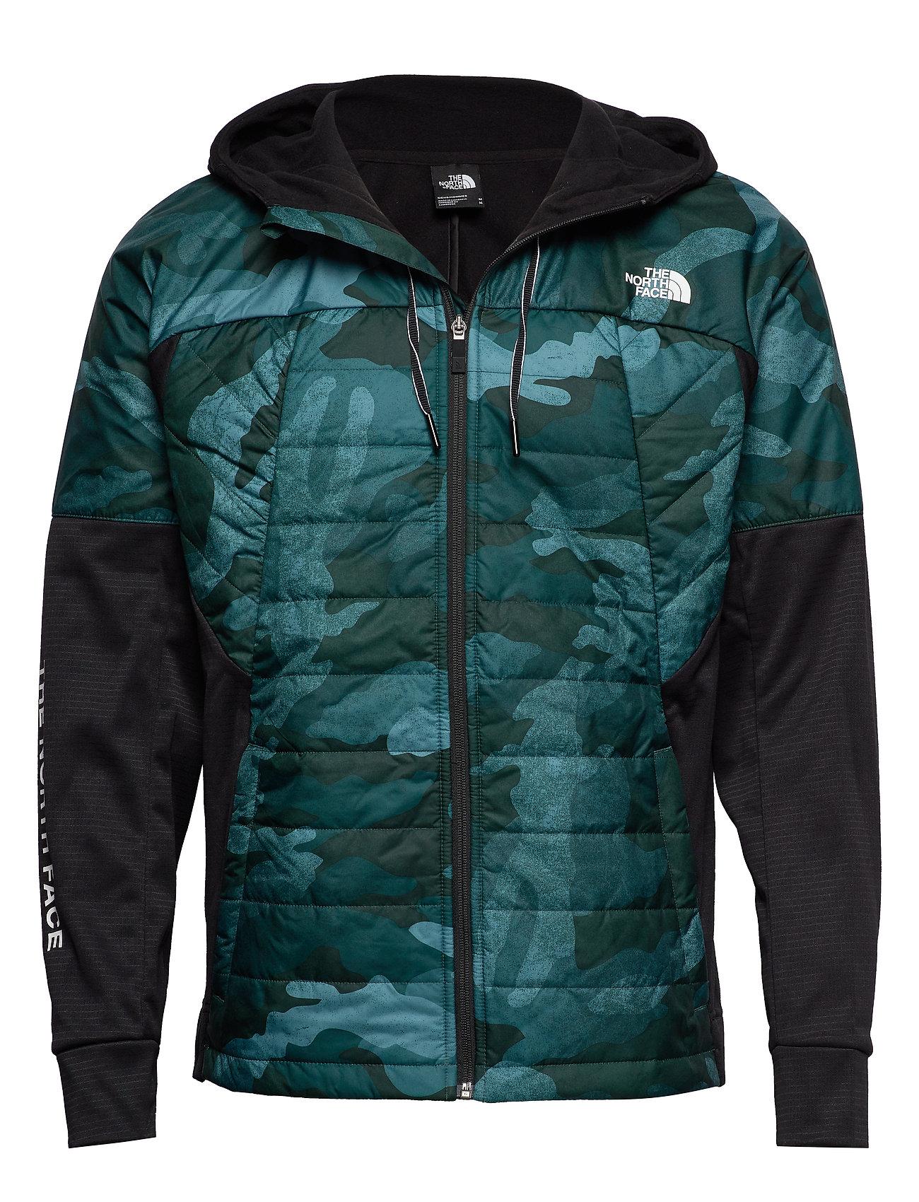 The North Face M TNL HYB INS JKT - BLACK/GREEN PRT
