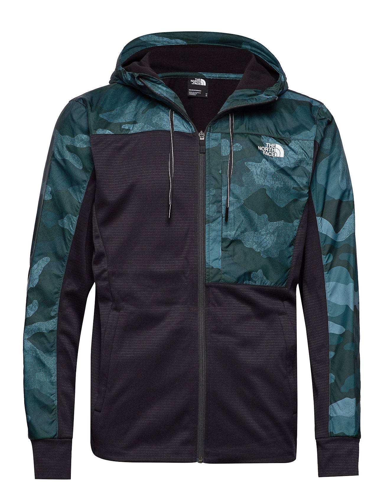 The North Face M TNL OVERLAY JKT - BLACK/GREEN PRT