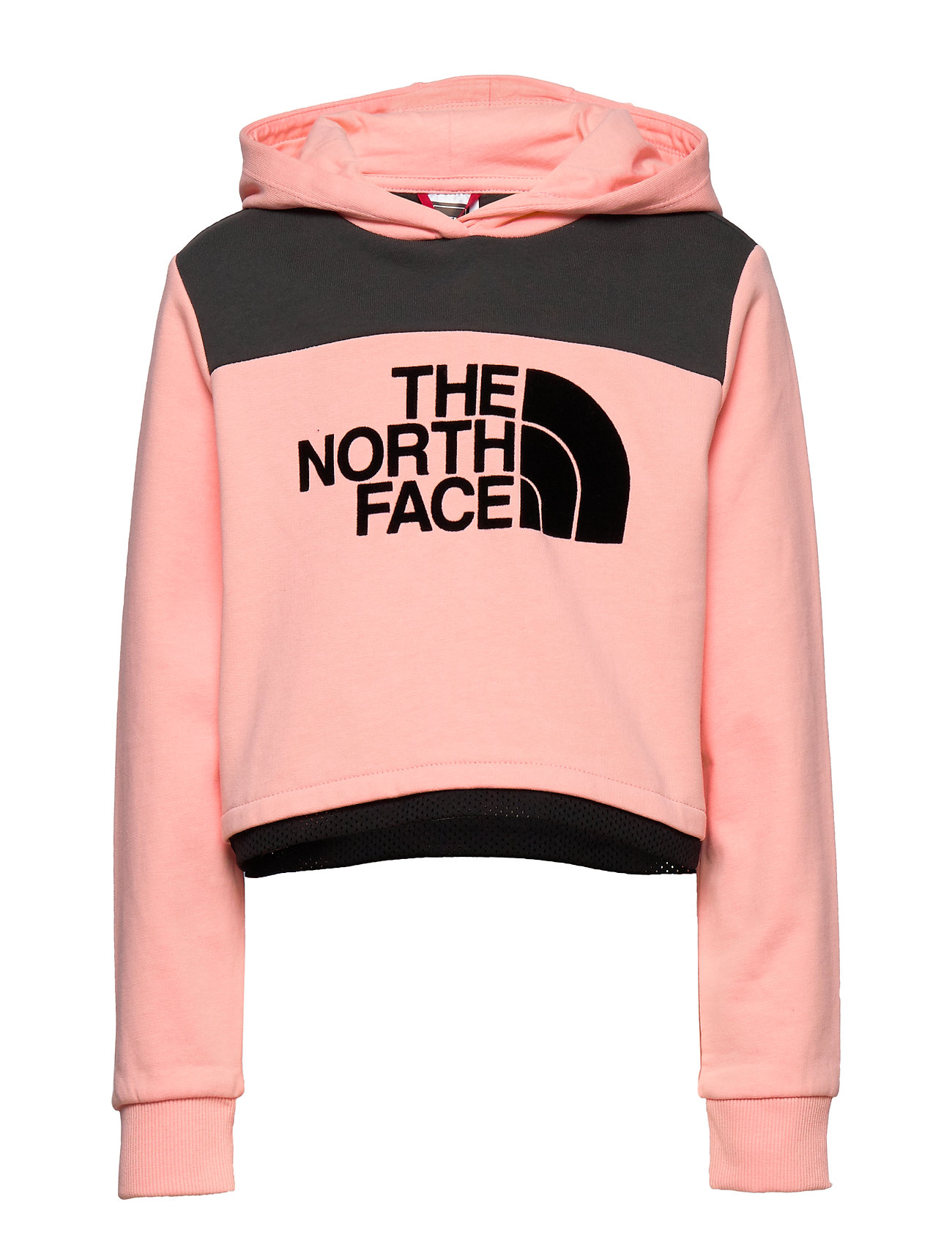 The North Face G CROPPED HOODIE - IMPATIENS PINK