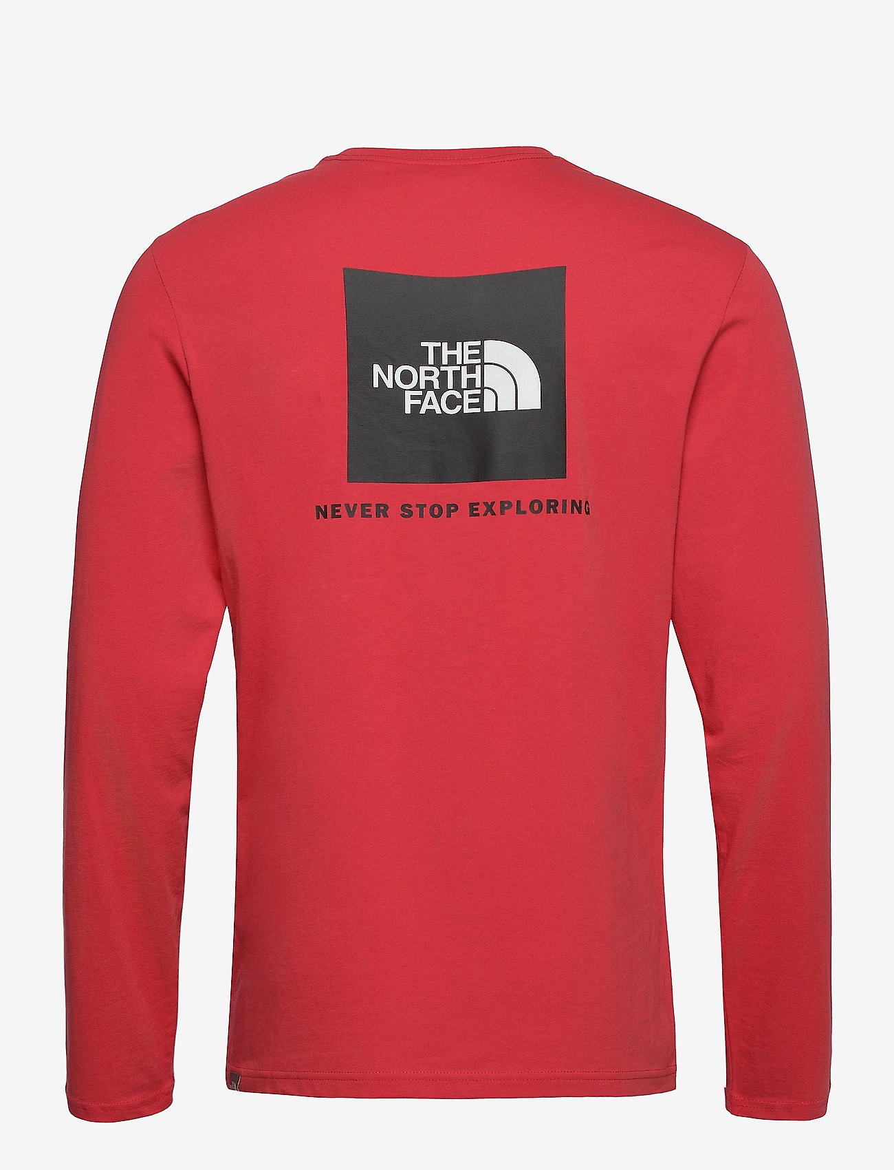 The North Face - M L/S RED BOX TEE - t-shirts à manches longues - rococco red - 1