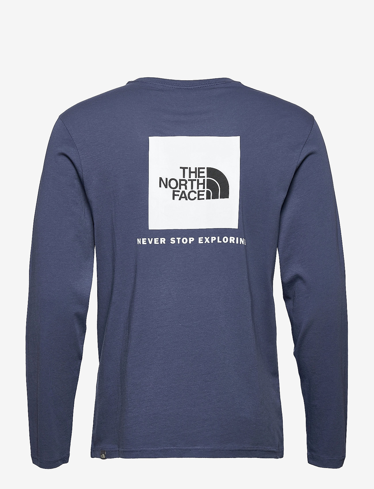 The North Face - M L/S RED BOX TEE - t-shirts à manches longues - vintage indigo - 1