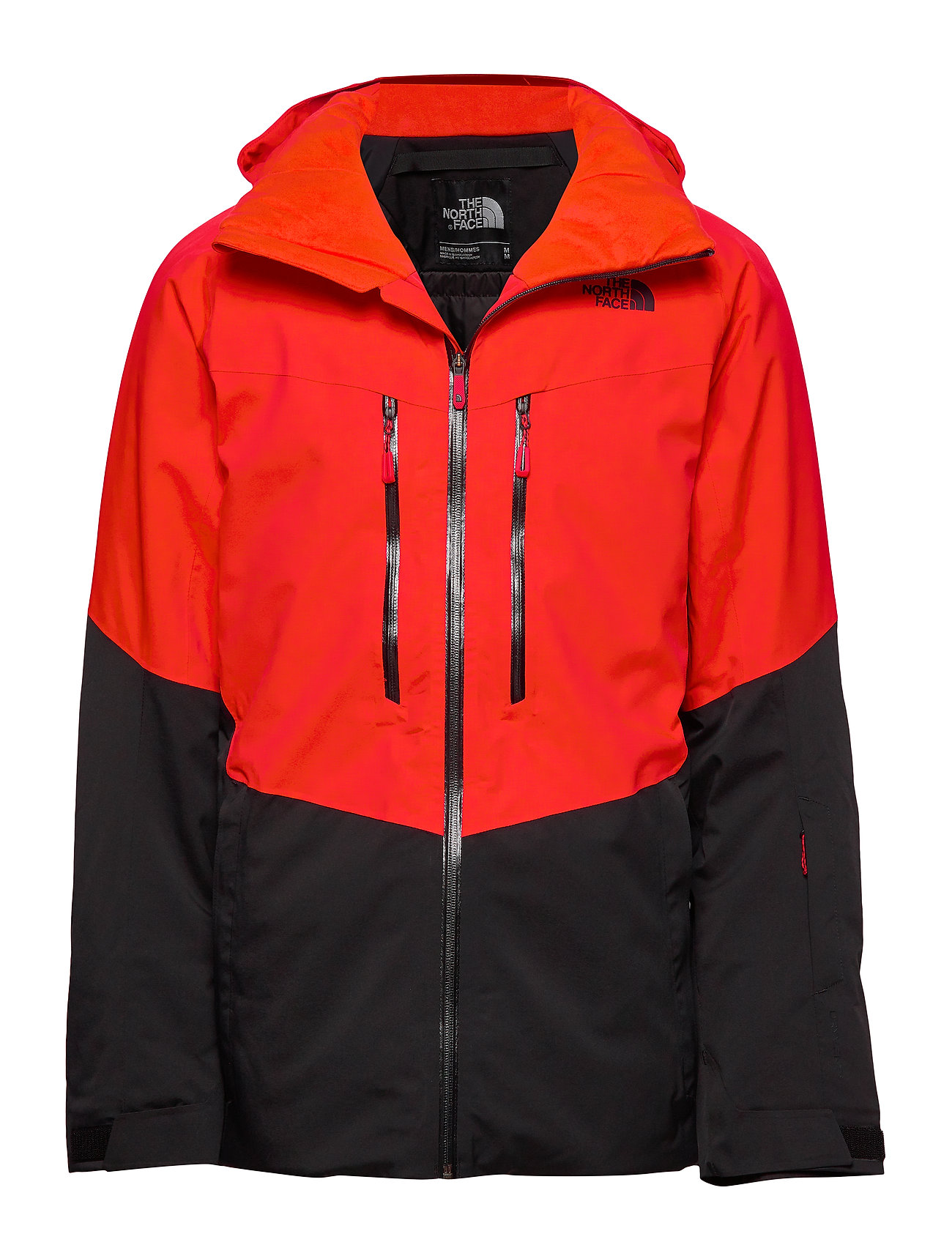 The North Face M CHAKAL JKT - FIERY RED/BLACK