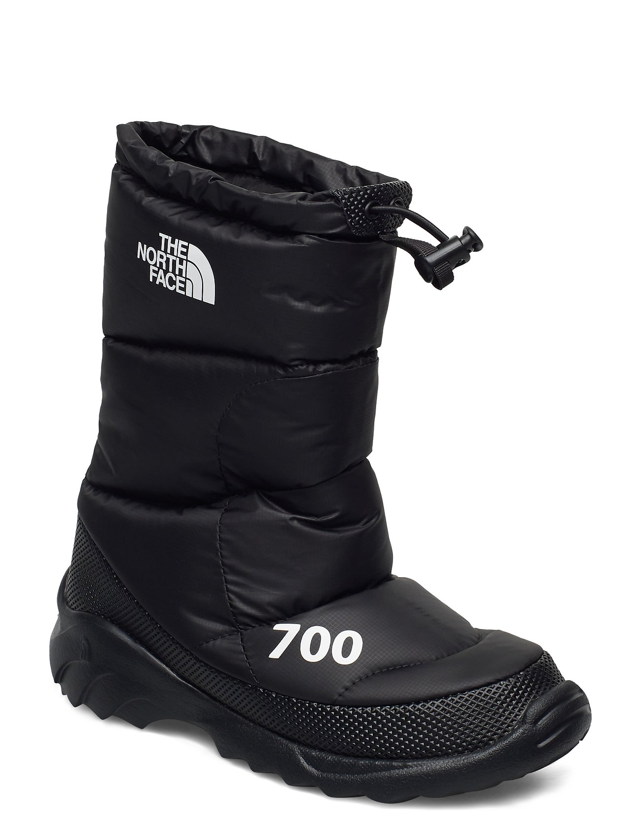 Image of W Nuptse Bootie 700 Shoes Boots Ankle Boots Ankle Boot - Flat Sort The North Face (3462698351)