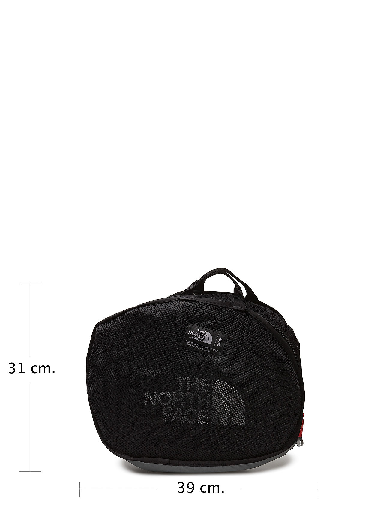 The North Face - BASE CAMP DUFFEL - M - salilaukut - tnf black - 0