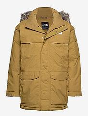 The North Face - M MCMURDO - down jackets - british khaki - 0