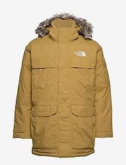 The North Face - M MCMURDO - down jackets - british khaki - 1