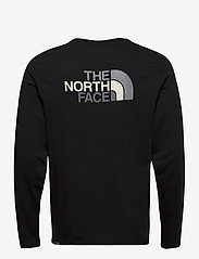 The North Face - M L/S EASY TEE - langarmshirts - tnf black-zinc grey - 1
