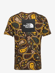 The North Face - M S/S RED BOX TEE - t-shirts à manches courtes - pcbrnasbpslyprt - 1