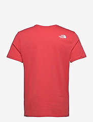 The North Face - M S/S EASY TEE - t-shirts à manches courtes - rococco red - 1
