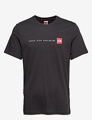 The North Face - M S/S NSE TEE - t-shirts à manches courtes - tnf black - 0