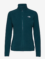 The North Face - W 100 GLACIER FULL ZIP - EU - mellomlag i fleece - blue wing teal - 0
