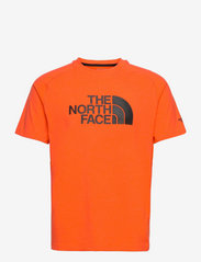 The North Face - M WICKE GRAPHI CR-EU - t-shirts - flamewhitheathr - 0