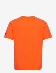 The North Face - M WICKE GRAPHI CR-EU - t-shirts - flamewhitheathr - 1