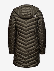 The North Face - W TREVAIL PARKA - kurtki puchowe - new taupe green - 2